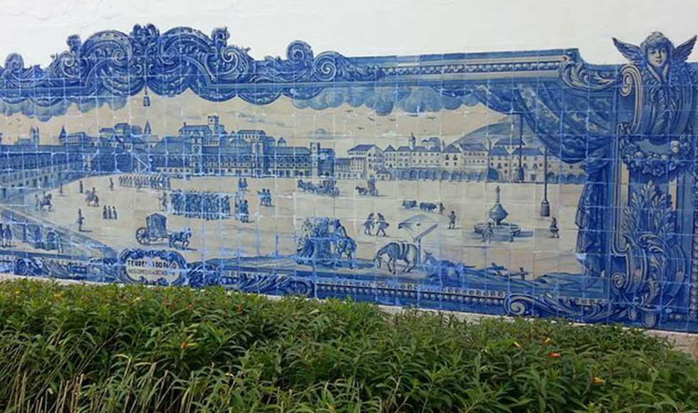 Lisbona con gli azulejos