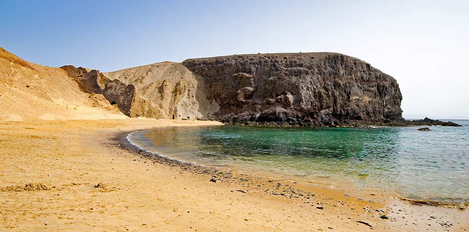 le meravigliose e dorate Playas del Papagayo