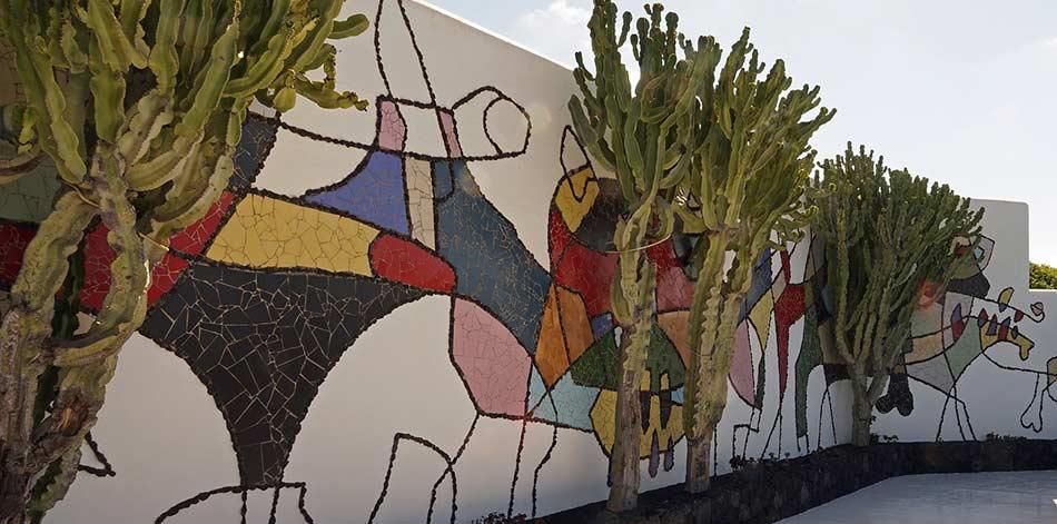 galleria di dipinti ancora conservati nel Castillo San Jorge