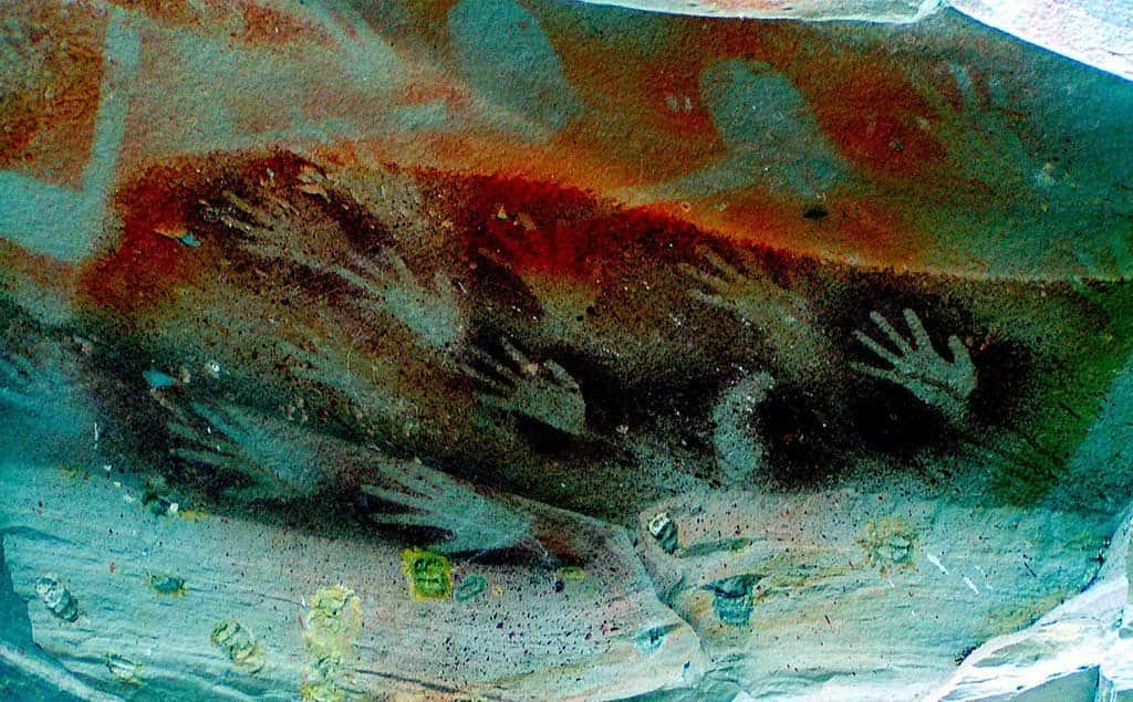 L'unica risorsa dei nativi: le loro pitture