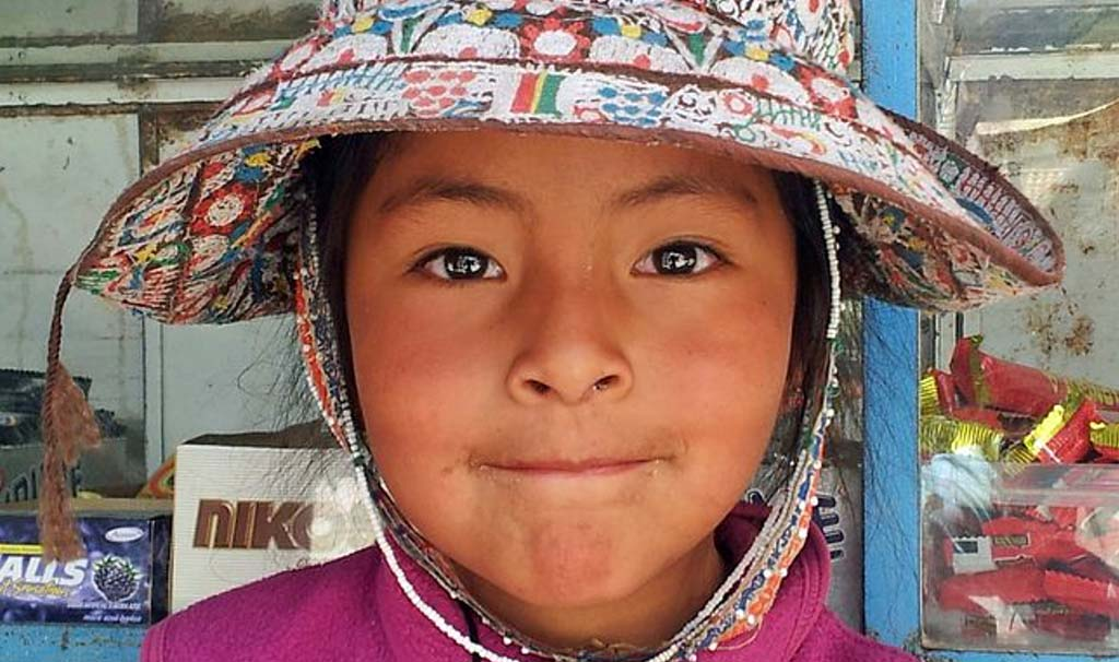 ma quei bambini in fondo giocavano, ridevano e crescevano in un pezzo dimenticato di Perù