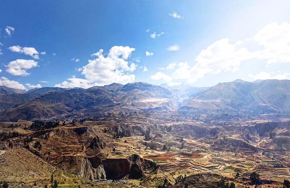 un ultimo saluto prima di scavalcare le Ande.