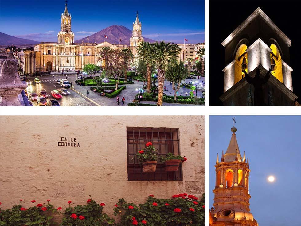 Arequipa sembra una città andalusa, la gente, i negozi, i servizi e gli istituti culturali