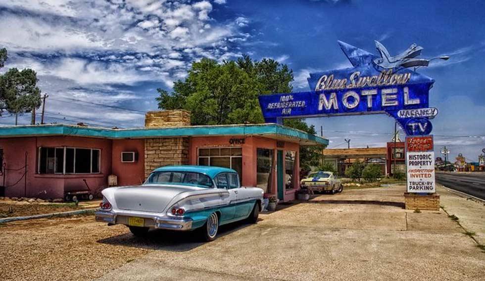 Motel on the road Il mito della strada