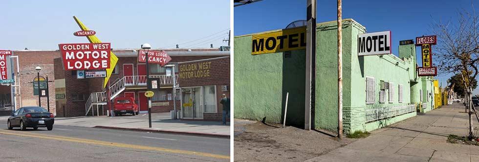 infine la nostalgia vi parlerà di qualche motel solitario e arrugginito