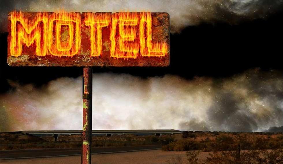 Motel americani sono quasi sempre costruzioni basse