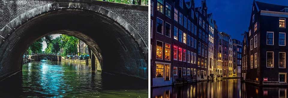 il Reguliergracht più placido e romantico