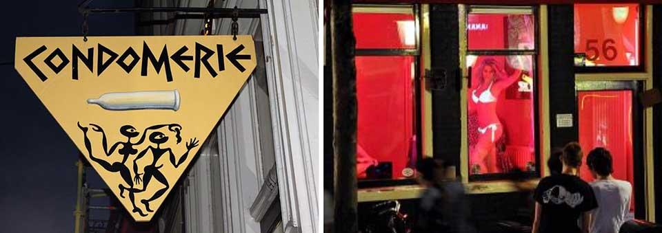 300 donne che ancora si vendono in vetrina nel quartiere a luci rosse