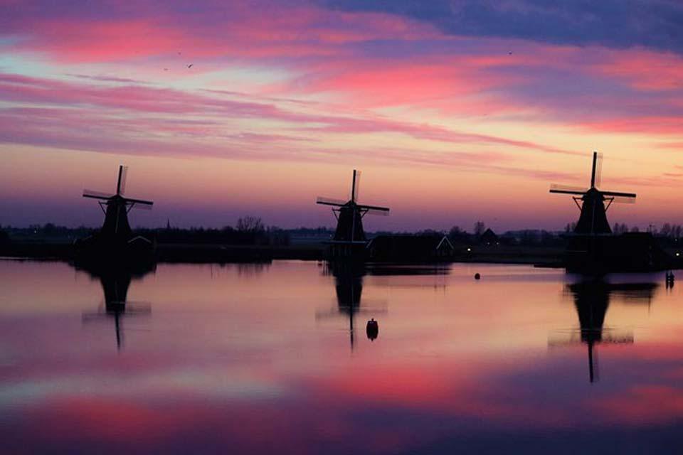 Amsterdam, leggera e colorata