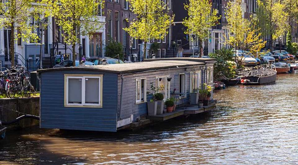 le pittoresche houseboat