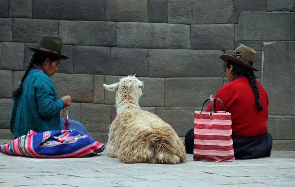 Ovunque vada le pietre che fece fare Inca Roca mi accompagneranno