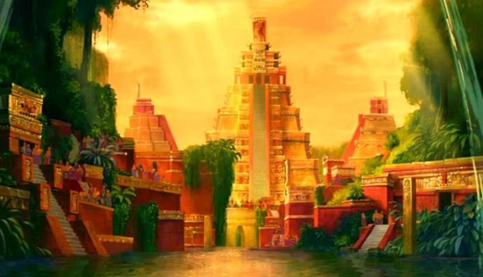 la fantasia che nella lontana America precolombiana l'oro fosse ovunque
