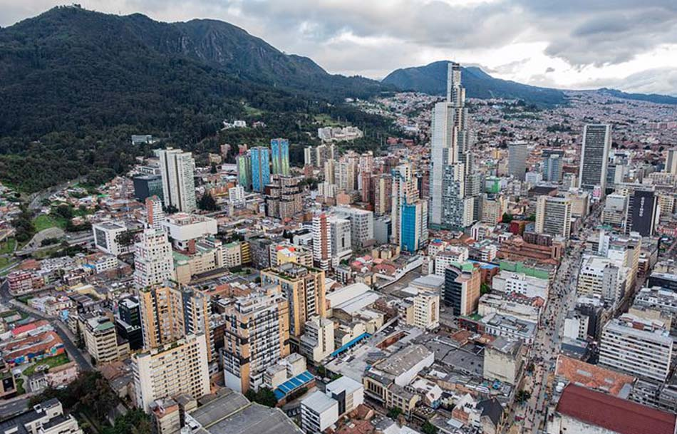 l'attuale città di Bogotà in Colombia