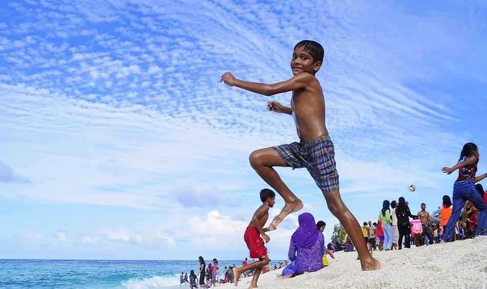 A Male o negli atolli si può partecipare a sfilate, balli locali, degustazioni di pesce