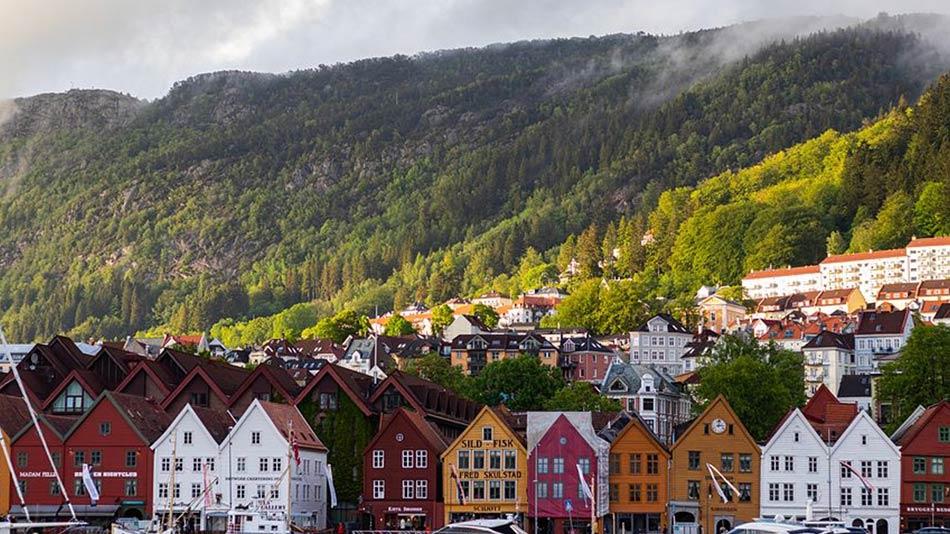 Bergen è così bella da far mancare il fiato