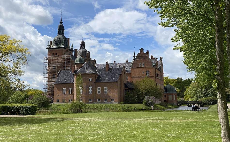 poi un altro castello, il Vallø Slot