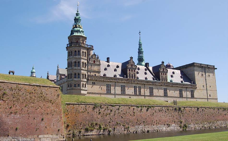 Kronborg Slot, il castello di Amleto