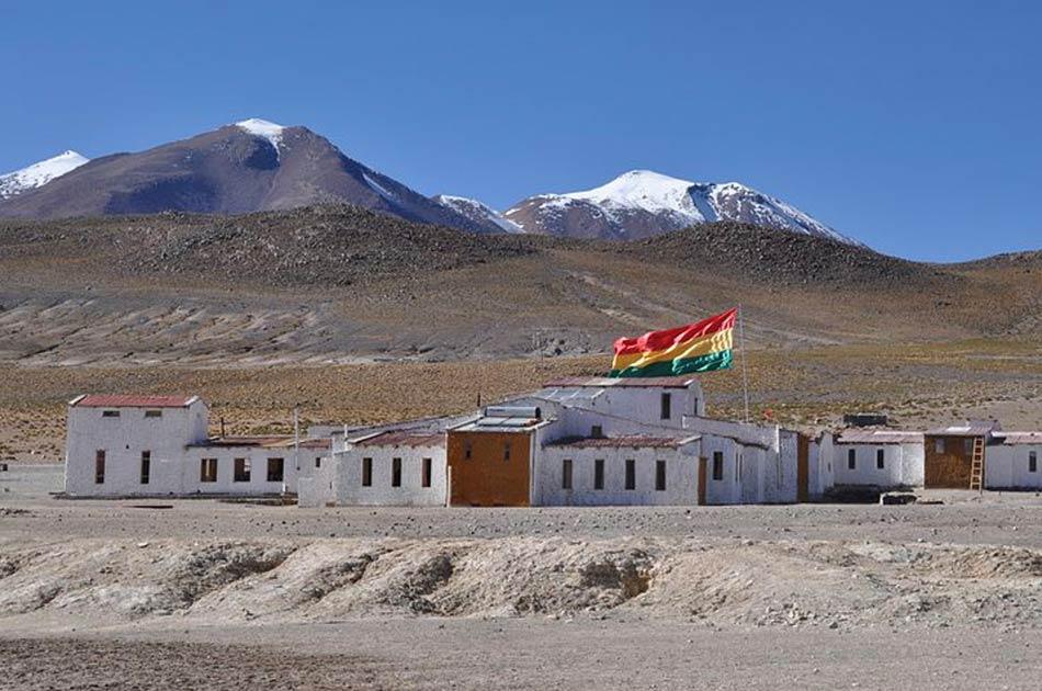 sul camioncino che mi porta verso la Bolivia