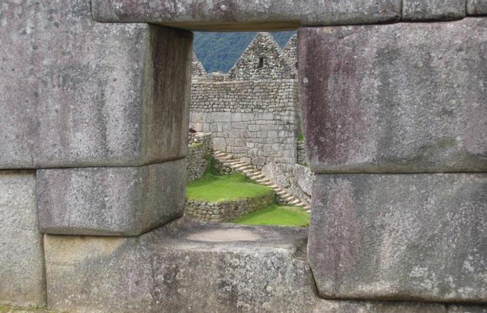 una sorta di luogo sacro sperduto tra le Ande