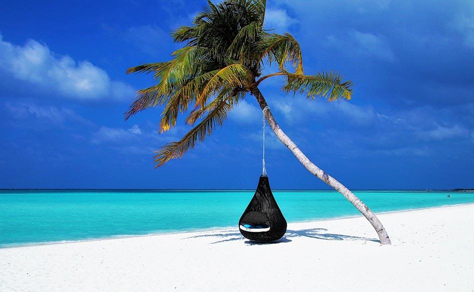 per cui la meta decisa sono state le Maldive