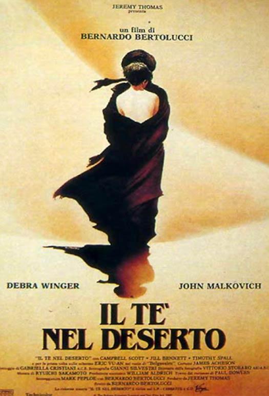 """""""Il Tè nel deserto"""" di Bernardo Bertolucci, ispirato dal celebre romanzo di Paul Bowles"""