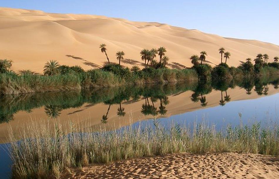 L'acqua è così preziosa nelle oasi che passa come bene nelle eredità, crea la fortuna di una famiglia