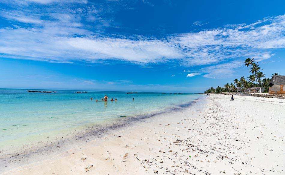 Sono felicissima, Zanzibar ci aspetta e speriamo di trovare un bel sole forte