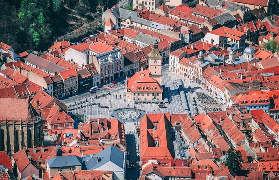 L'itinerario in Transilvania comincia con la visita di Brasov