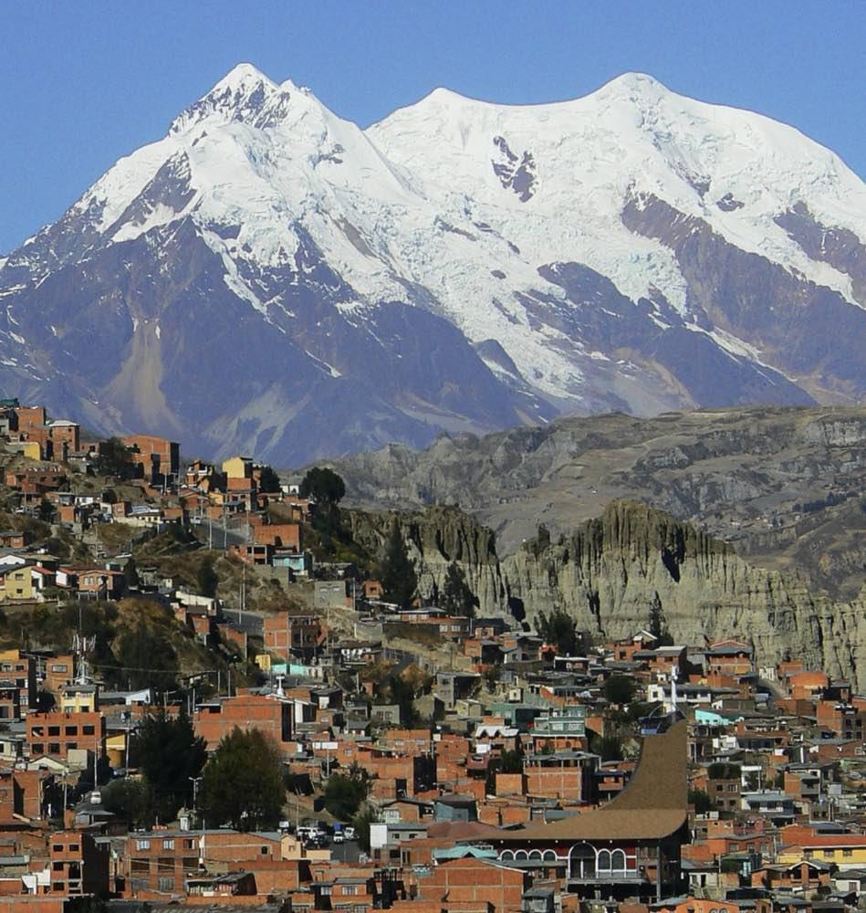 La Paz come ritratto e sintesi ideale della Bolivia, di un mondo alto e gelido, povero e spirituale