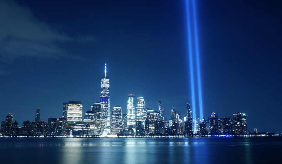 """il toccante """"9/11 Memorial & Museum"""" situato presso il World Trade Center"""
