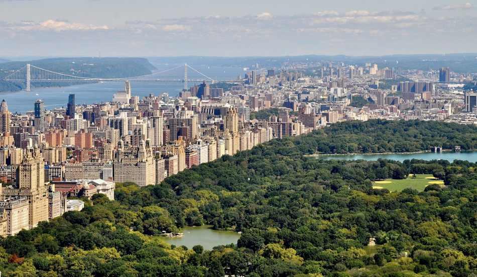 Central Park, con i suoi colori è spettacolare e gradevole passeggiare in questa isola