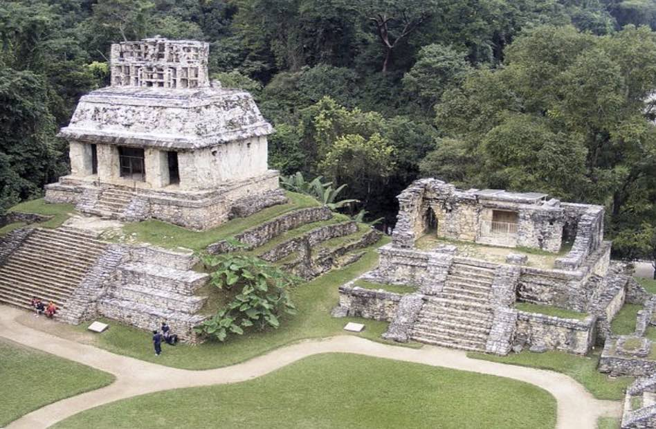 Re Pacal, vissuto a Palenque tra il 615 e il 683 d.C,