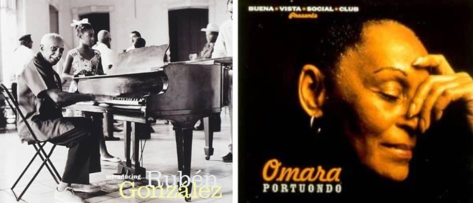 Rubén González e Omara Portuondo
