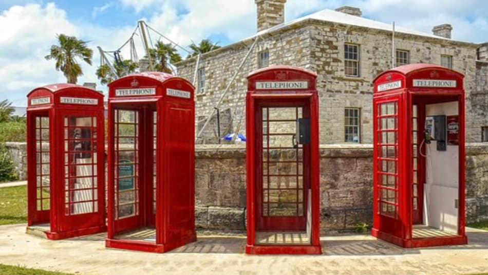 le red phone cab retaggio della corona inglese