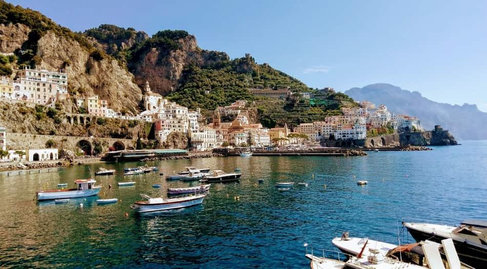 in viaggio per Amalfi