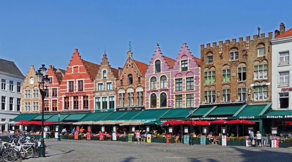 Il Grote Markt, la piazza del Mercato