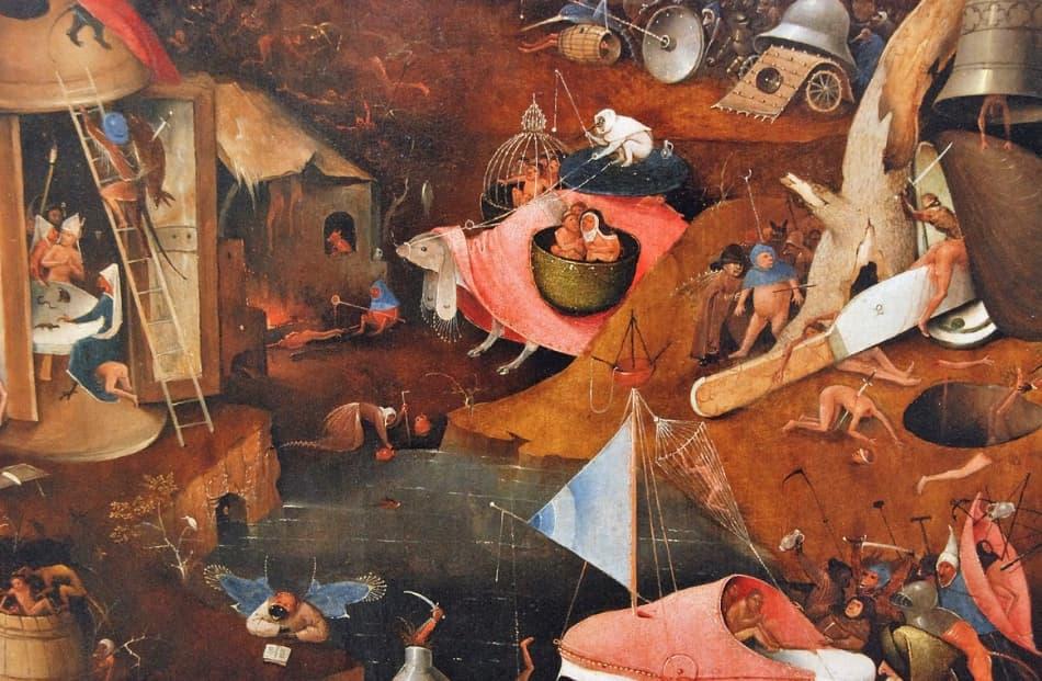la corrente dei maestri primitivi fiamminghi, ovvero Jan Van Eyck, Rogier Van der Weyden e Hans Memling