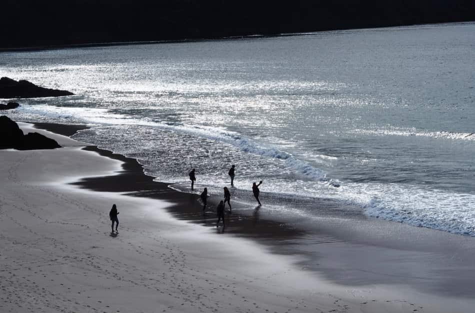 Le atmosfere di Inch Beach