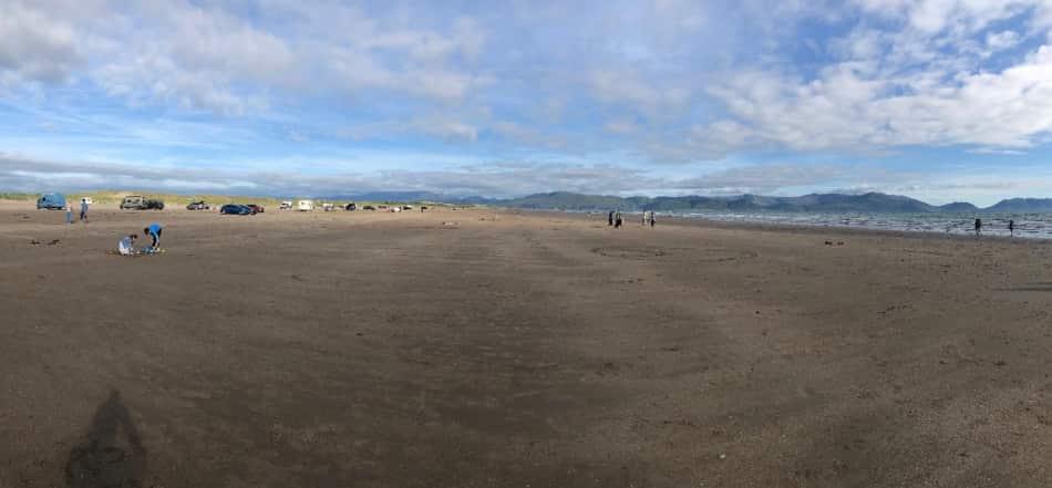 Inch Beach che si apre davanti a noi immensa