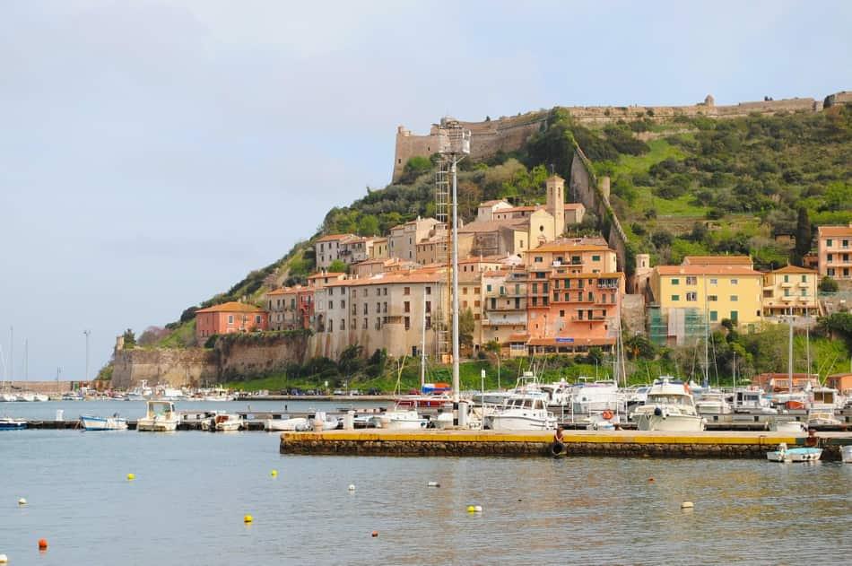 abbiamo soggiornato in un alberghetto a Porto Ercole