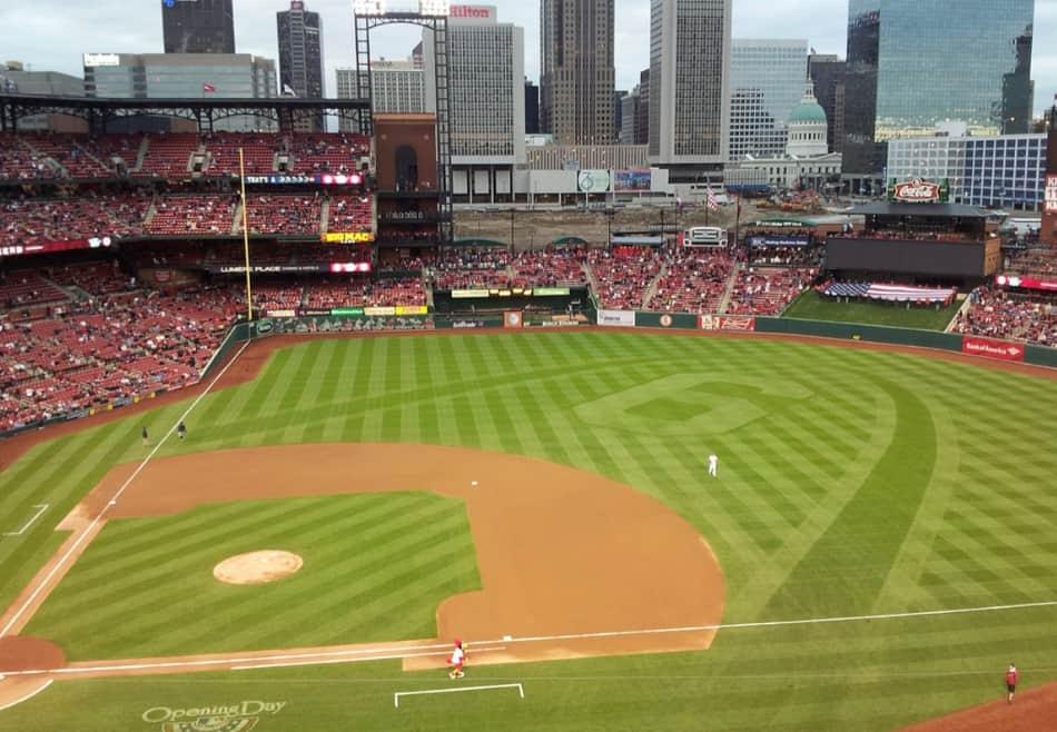qui gioca uno dei migliori team di baseball degli Usa, quello dei Cardinals