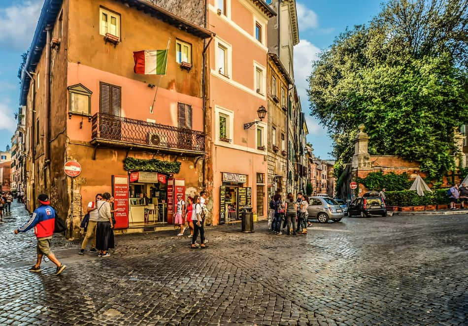 un piccolo viaggio nella cucina romana