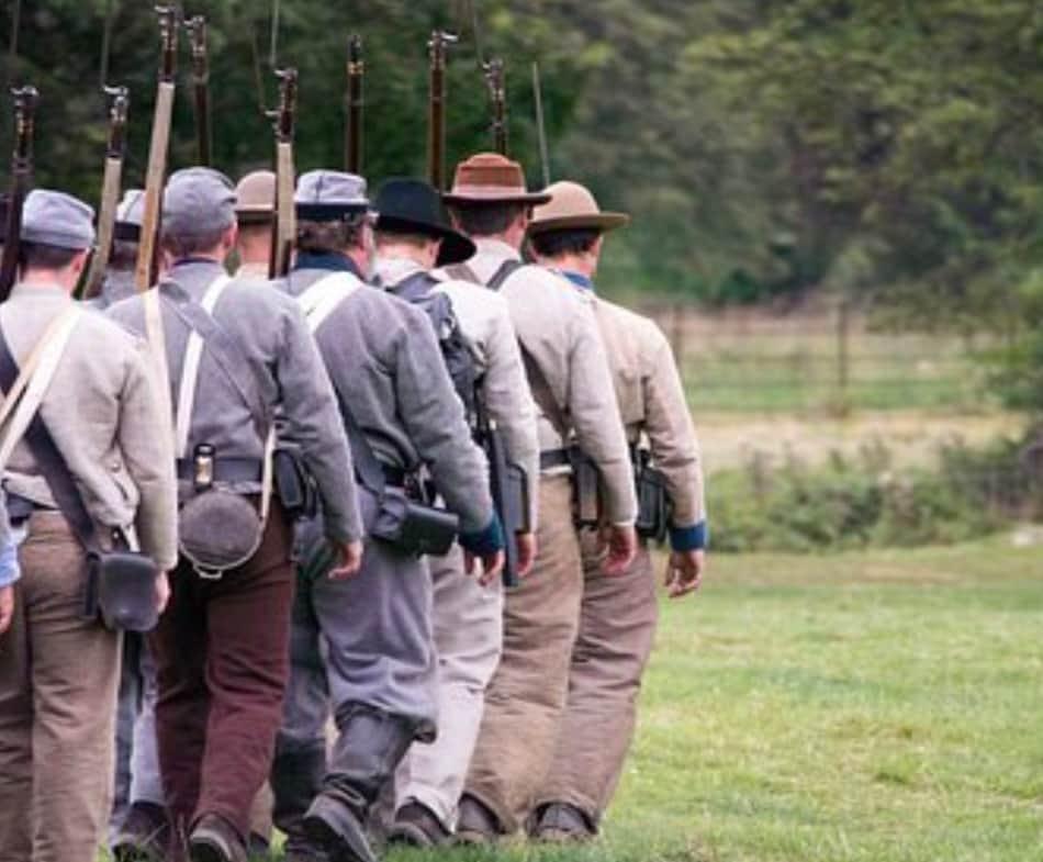 la sconfitta dei sudisti lasciò 600.000 morti totali sul campo