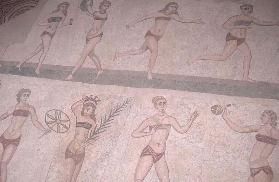 i favolosi mosaici delle ville romane