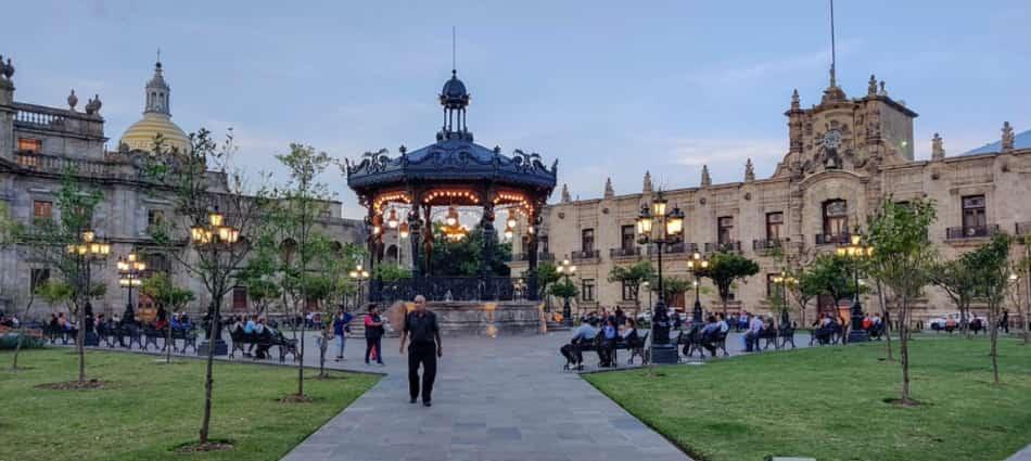 Il centro storico di Guadalajara è raccolto intorno alla Cattedrale
