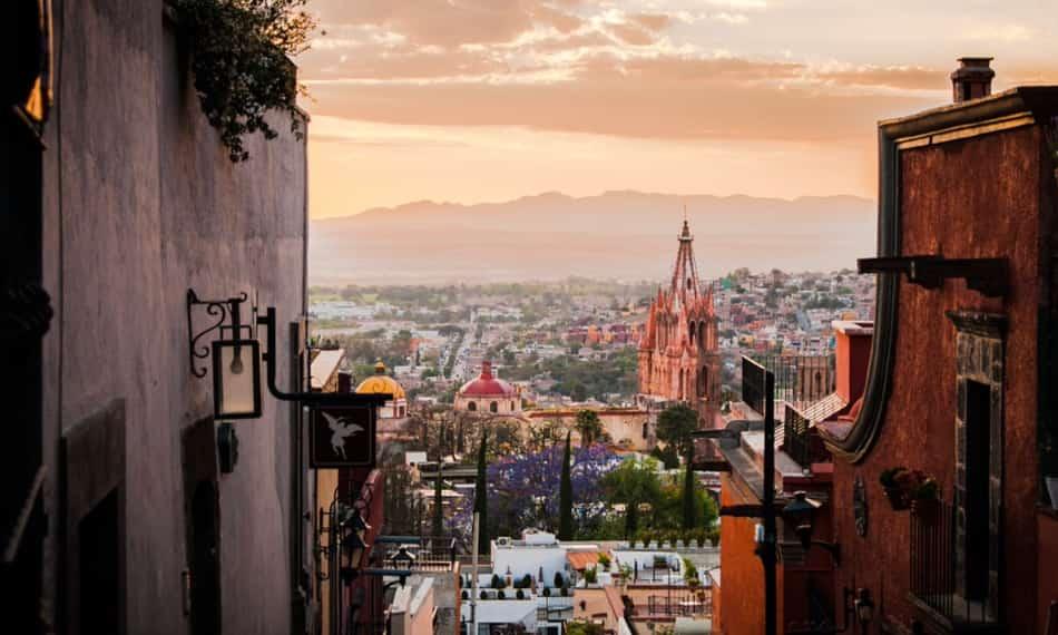 San Miguel de Allende, piena di scorci artistici