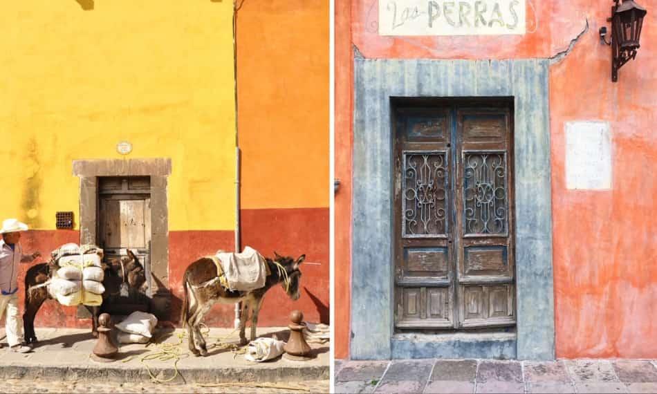 Guanajuato, una macchia di colore