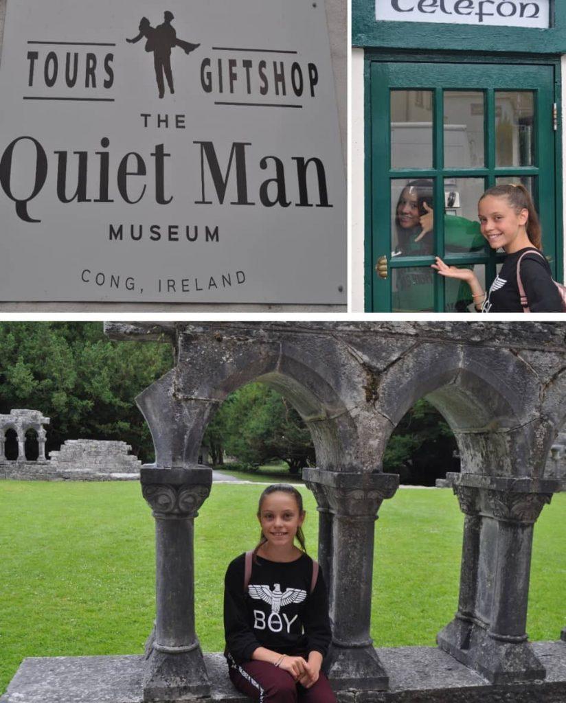 """il paesino di Cong, ai confini tra le contee del Connemara e di Mayo, location del delizioso film """"Un uomo tranquillo"""" dove John Wayne"""