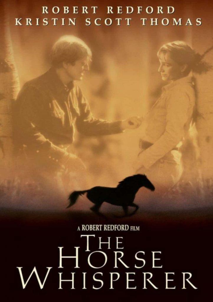 Locandi del film l'uomo che sussurava ai cavalli