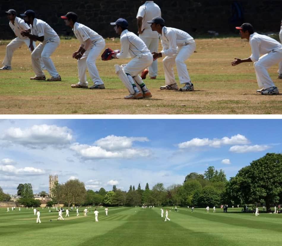 Le stesse scene e le stesse partite di cricket in Pakistan le vedi ovunque